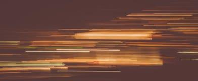 Fugas abstratas da luz na obscuridade imagens de stock