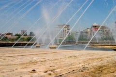 Fugas da água Foto de Stock Royalty Free