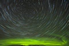 Fugas da estrela da Aurora Imagem de Stock Royalty Free