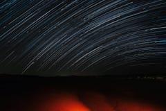 Fugas da estrela perto do rio de Zin Fotos de Stock Royalty Free