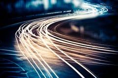 Fugas da luz Imagem de Stock