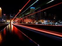 Fugas da luz Imagem de Stock Royalty Free