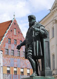 Fugger Sculpture Royalty Free Stock Photography