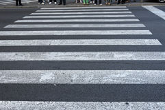 Fußgängerübergang Stockfotos