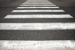 Fußgängerübergang Lizenzfreies Stockfoto
