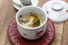 Fugu отсутствие hirezake, питья ради японских ребер blowfish горячего стоковые фото
