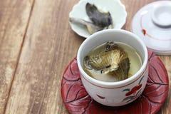 Fugu отсутствие hirezake, питья ради японских ребер blowfish горячего стоковое фото