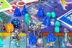 Fugurines του μονοπωλιακού παιχνιδιού, έκδοση της Disney στοκ εικόνα με δικαίωμα ελεύθερης χρήσης