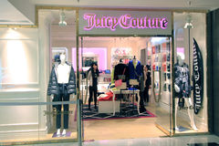 Fuicy Couture shop in hong kong Stock Image