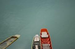 Fuites de bateau à rames Images stock