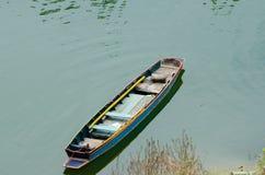 Fuites de bateau à rames Photo libre de droits