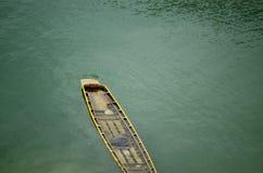 Fuites de bateau à rames Image libre de droits