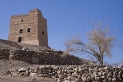 Fujairah castle Stock Images