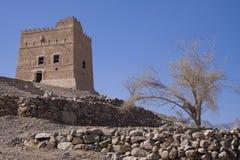 Fujairah castle Stock Images