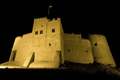 Fujairah castle Royalty Free Stock Photos