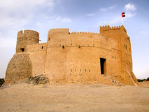 Fujairah fort Stock Photography