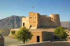 Fujairah fort, Fujairah miasto Zdjęcie Royalty Free