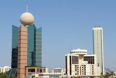 Fujairah-Gebäude Lizenzfreie Stockbilder