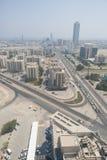 Fujairah van de binnenstad stock afbeeldingen