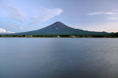 Fuji. View from Kawaguchiko lake royalty free stock photos