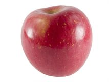 Fuji apple. A close-up on a fresh fuji apple Royalty Free Stock Photo