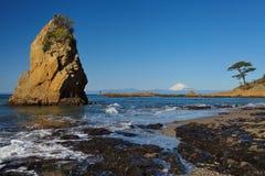 fuji berg fotografering för bildbyråer