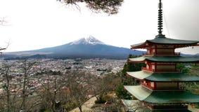 fuji berg Royaltyfri Bild