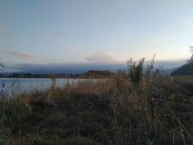 Fuji-Bergblick in Japan lizenzfreie stockbilder