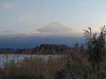 Fuji bergsikt i Japan arkivfoto