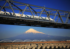 Fuji-DG 56 di Mt Fotografia Stock Libera da Diritti