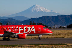 FUJI DREAM AIRLINES ERJ 170 Stock Photos
