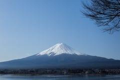 Fuji en el lago Kawaguchiko Fotografía de archivo libre de regalías