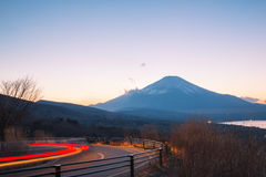 Fuji fujisan sunset Stock Images