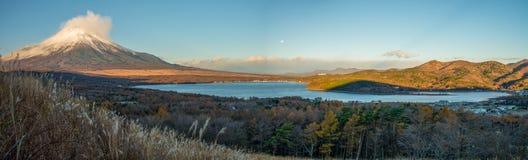 Fuji góra i Yamanakako jezioro obrazy stock