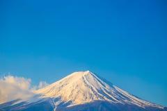 Fuji góry krajobrazu niebieskie niebo Fotografia Royalty Free
