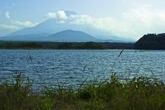 Fuji góry przelotne spojrzenie Zdjęcia Royalty Free