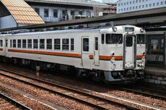 Fuji Heavy Industries train Stock Image