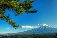 Fuji montering Royaltyfria Bilder