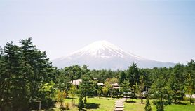 fuji montering tokyo arkivbilder