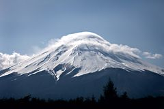 Fuji Mountain Royalty Free Stock Photo