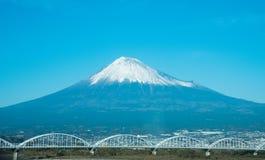 The fuji mountain in Japan Stock Image