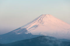 Fuji Mountain Lake Hakone Sunrise Stock Images