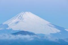 Fuji Mountain Lake Hakone Sunrise Stock Photos