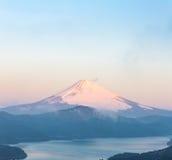Fuji Mountain Lake Hakone Sunrise Royalty Free Stock Photo