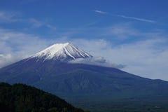 Fuji Mountain at lake Kawaguchi, Japan royalty free stock images
