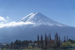 Fuji mountain at shizuoka , Japan. Where is afavorite for the tourist go to Japan royalty free stock photography