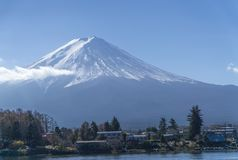 Fuji mountain at shizuoka , Japan royalty free stock images