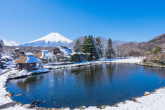 Fuji mountain view. Stock Photo