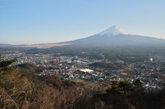 Fuji Mt. View from cable car view point stock images