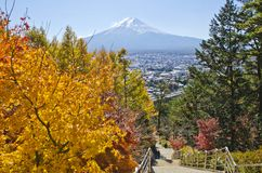 Fuji mt photo libre de droits